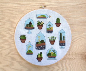 cross stitch, embroidery, and needlework image