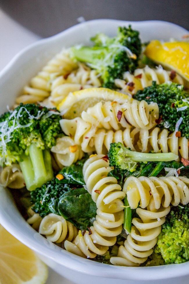 pasta, broccoli, and delicious image
