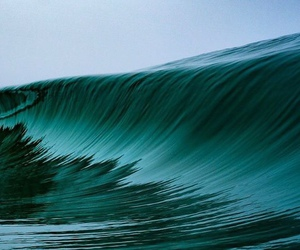 ocean, photography, and wave image