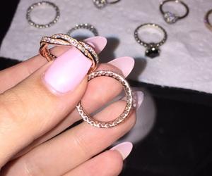 addicted, pandora, and rings image