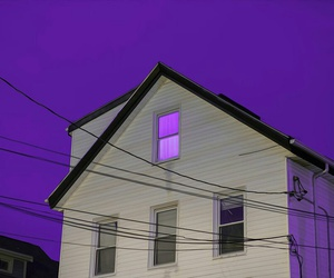 house, aesthetic, and blue image