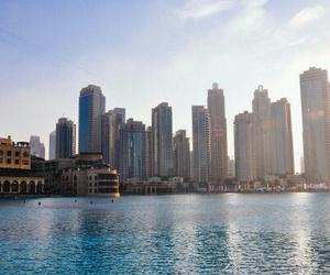 city, places, and Dubai image