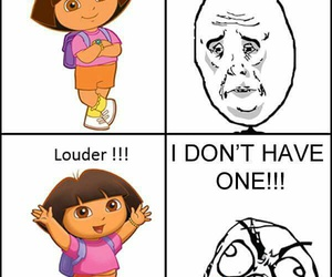 funny and Dora image