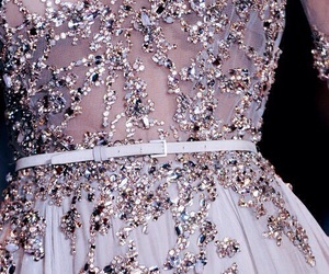 dress, fashion, and sparkles image