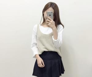 girl, tumblr, and fashion image
