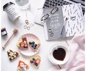 accessories, coffee, and delicious image