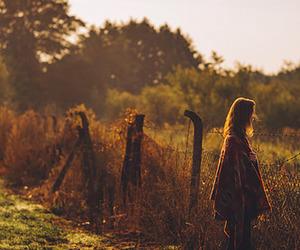 fashion, nature, and girl image