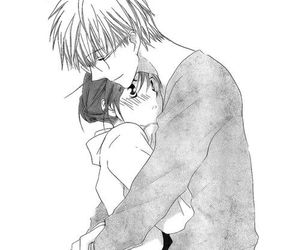manga, love, and hug image
