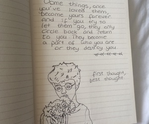 aesthetic, notebook, and daniel radcliffe image