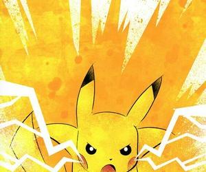 pikachu, pokemon, and angry image