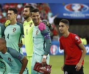 cristiano ronaldo, football, and france image