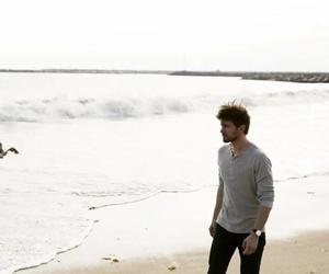 beach, boy, and cast image