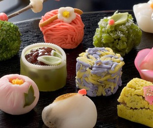 food, japan, and sweets image