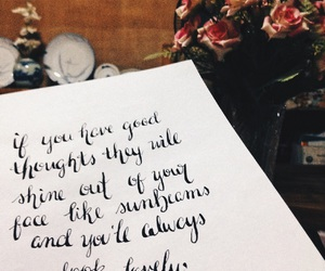 calligraphy, hand lettering, and quotes image