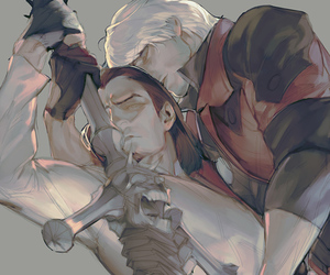 anime, art, and devil may cry image