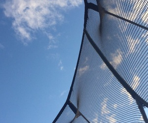 clouds, trampoline, and photography image