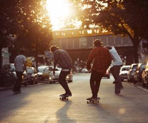 boy, skate, and skater image