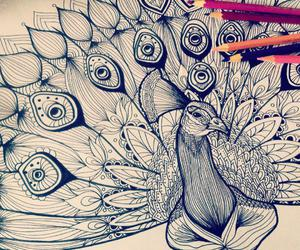 coloring book, drawing, and drawings image