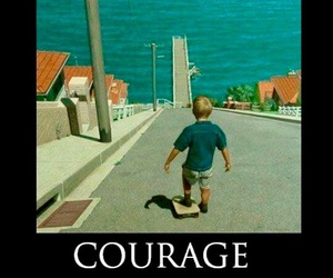 courage, funny, and lol image