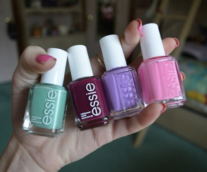 essie, nail polish, and nails image