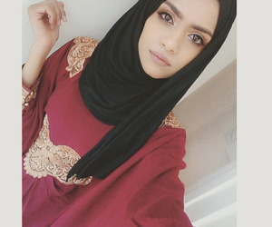 hijab, abaya, and hijab fashion image