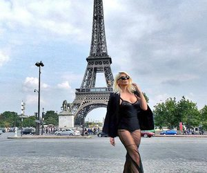 paris, fashion, and dress image