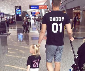 daddy, daughter, and goals image