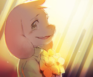 undertale and asriel image