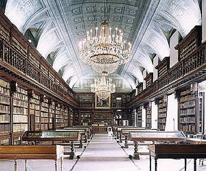 library and books image