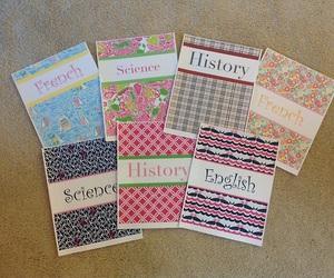 school, diy, and notebook image
