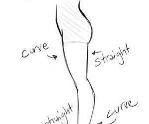 draw, how to, and leg image