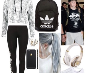 adidas, haïr, and iphone image
