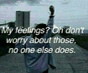 feelings, sad, and quotes image
