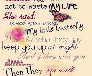 wings, little mix, and Lyrics image