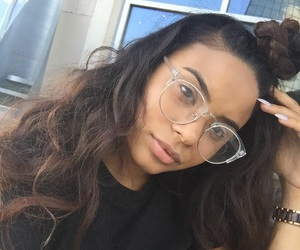 beauty, dope, and glasses image