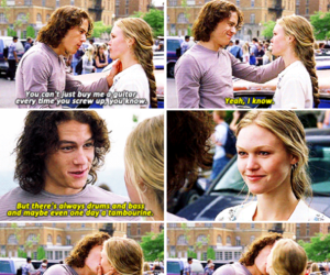 10 things i hate about you, beautiful, and heath ledger image
