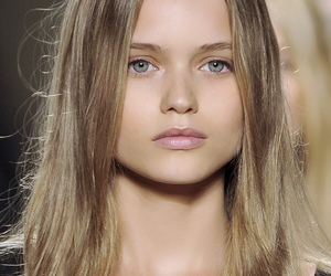 model, Abbey Lee Kershaw, and hair image