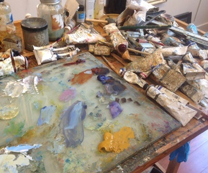 art, paint, and artistic image