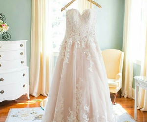 dress, gown, and rose image