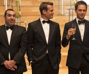 suits, harvey specter, and mike ross image