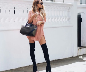 boots, dress, and goals image