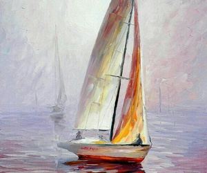 art, awesome, and boat image