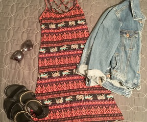 dress, ootd, and summer essentials image
