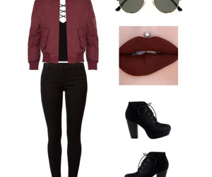 black and red, burgundy, and go image