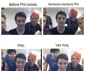 dan, heart, and phil image