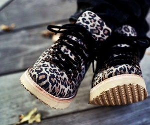 shoes and leopard image