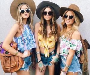 fashion, boho, and girls image
