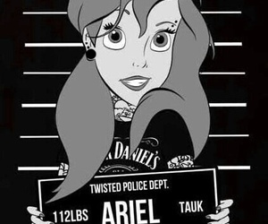 the little mermaid and punk disney princess image