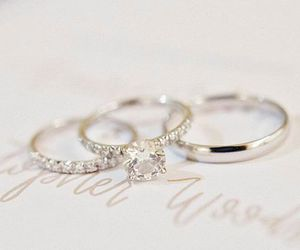 accessories, beautiful, and wedding ring image