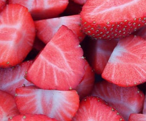color, red, and strawberry image